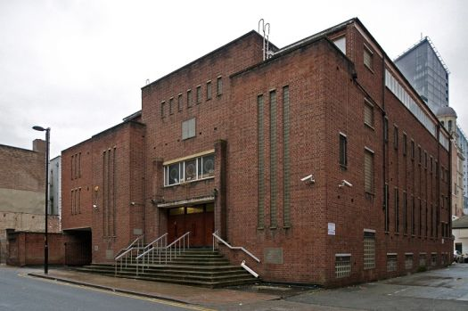 Jacksons Row synagogue in Manchester, where the project will be piloted