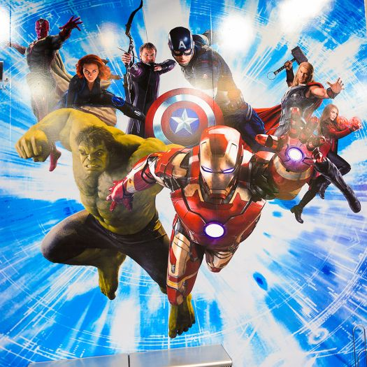 The Avengers are part of the Marvel Extended Universe