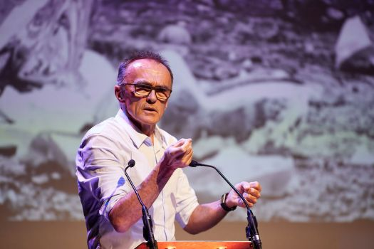 Director Danny Boyle at the inaugural SODA industry event