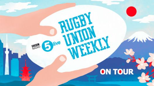 Emilia Schneider's animations were used online and on social media during BBC Radio 5 Live's Rugby World Cup coverage