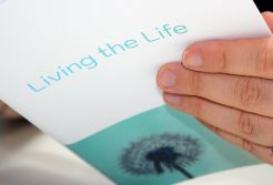 MinD - Designing For People With Dementia created a number of more considerate products including the Living The Life booklet