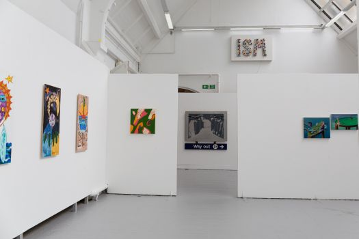 Image of work within fine art studios
