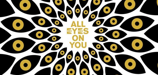 All Eyes On You branding created by Rice and Gold