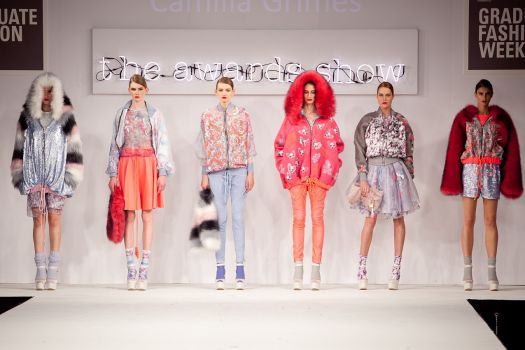 Student Designer Scoops Graduate Fashion Week Prize Manchester School Of Art News