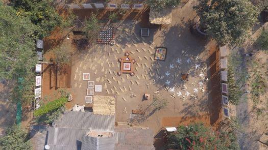 Aerial view of residency
