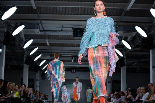 Jessica's work at Graduate Fashion Week