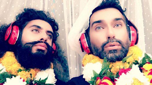 Two letters & a postscript video still Qasim Riza Shaheen 2017