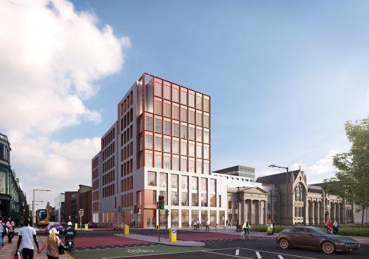 IImpression of the new Arts & Humanities building