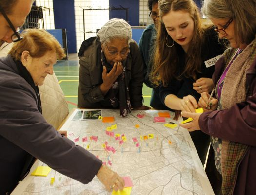 Co-design-research event as part of the Age- Friendly Hulme and Moss Side programme