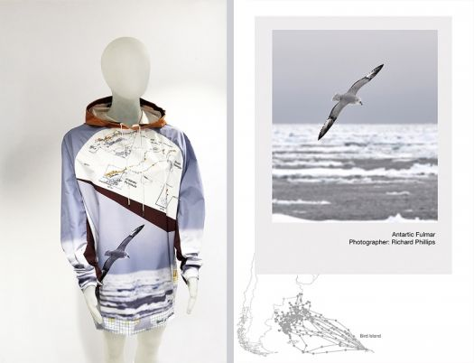 Unique Collaboration Between Fashion Designer And British Antarctic Survey On Display Manchester School Of Art News