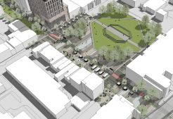 Oxford Road Plaza, as visualised by MLA students