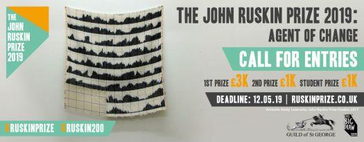 John Ruskin Prize banner