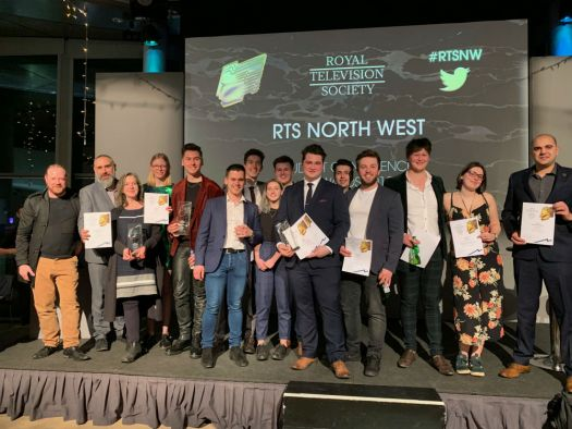 Students and alumni with a flair for film picked up prestigious prizes across three categories at the Royal Television Society's North West Student Awards. The students and recent graduates from the Manchester School of Art created original and enthrallin